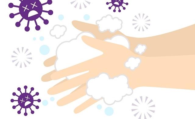 ウィルス手洗い