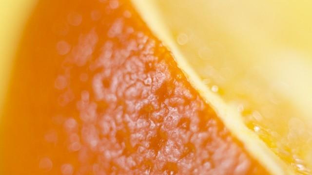 オレンジの皮オレンジのアロマ