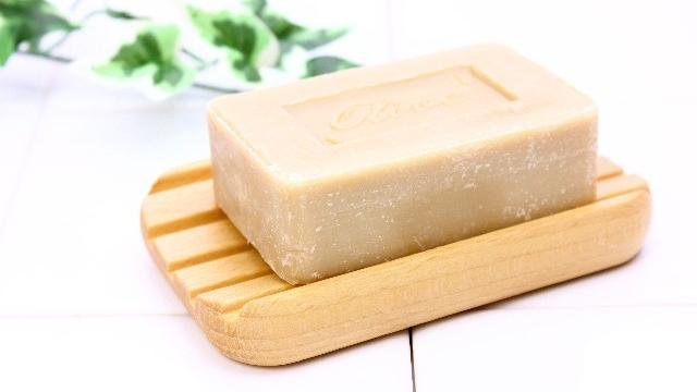 肌断食,純石鹸,洗顔方法